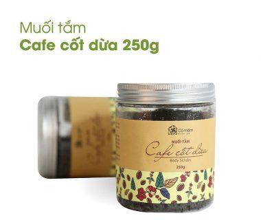 muối tắm cà phê cốt dừa